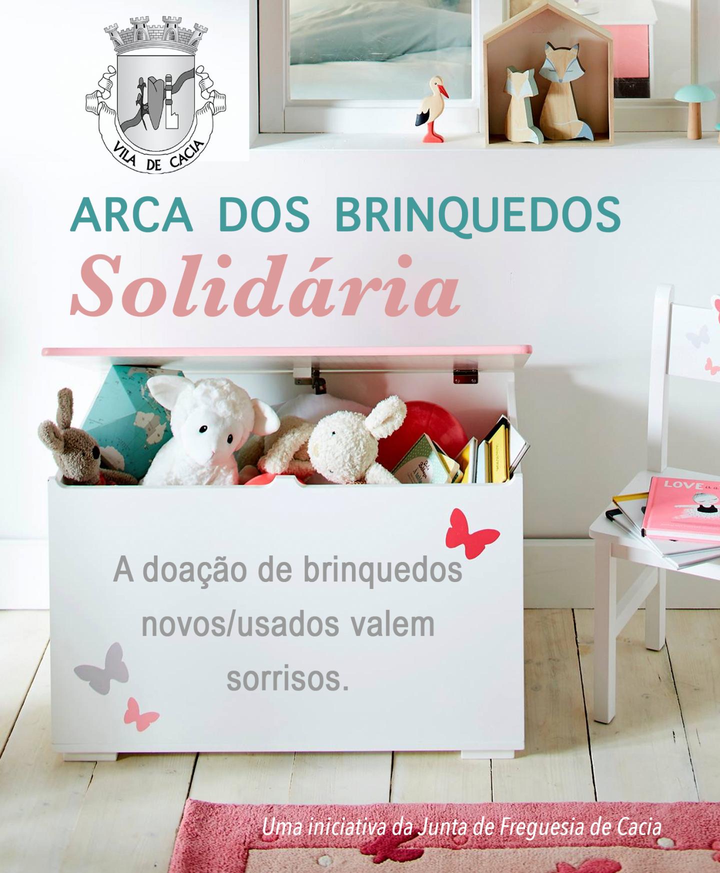 arca dos brinquedos solidaria