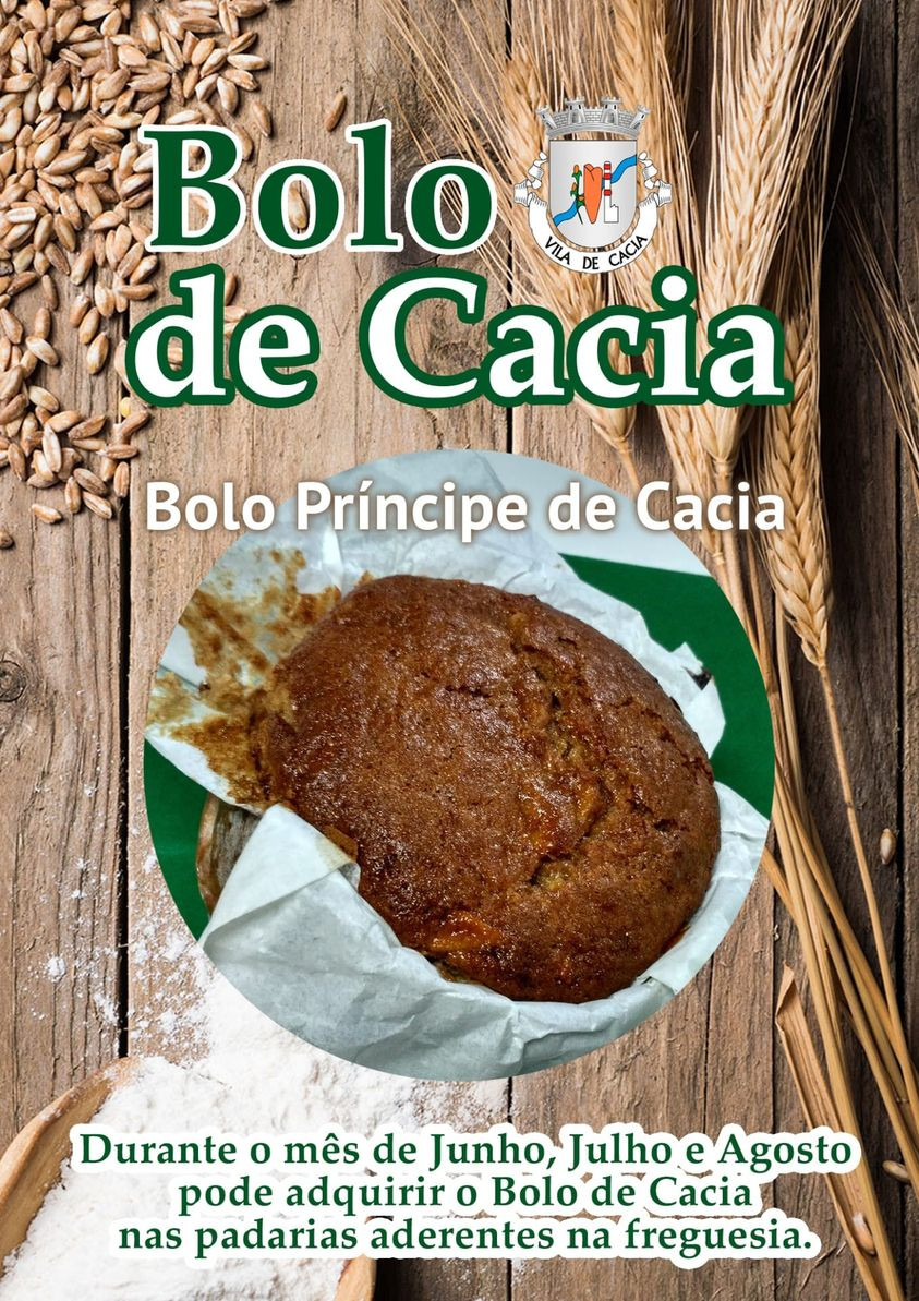 BOLO DE CACIA